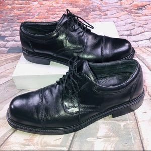 Cole Haan Dress Shoes Leather Cap Toe Blucher